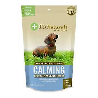 Pet Naturals of Vermont Calming Supplements for Dogs, 30 Chews