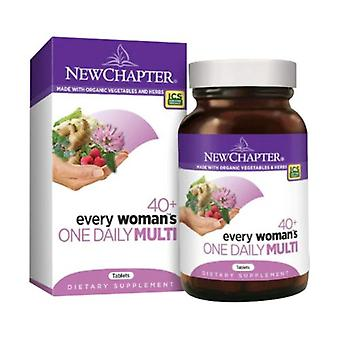 New Chapter Every Woman's One Daily 40 Plus, 72 tabs