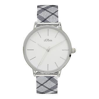 s.Oliver Damen Uhr Armbanduhr Edelstahl SO-4203-MQ