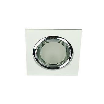 240V E27 Square Glass Covered Downlight