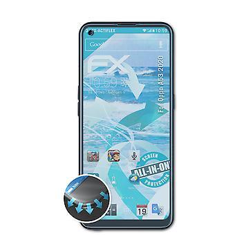 atFoliX 3x Écran protecteur compatible avec Oppo A53 2020 Protecteur d'écran clair&flexible