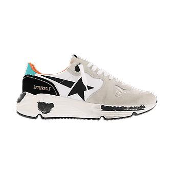 Golden Goose Running Nylon Leather Star White GMF00126F00064280523 shoe