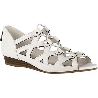 Easy Street Womens Savvy Open Toe Casual Platform Sandals