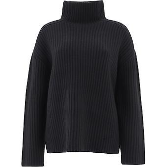 Acne Studios A60185black Women's Black Wool Sweater