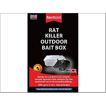Rentokil Rat Killer Outdoor Bait Box PSR71
