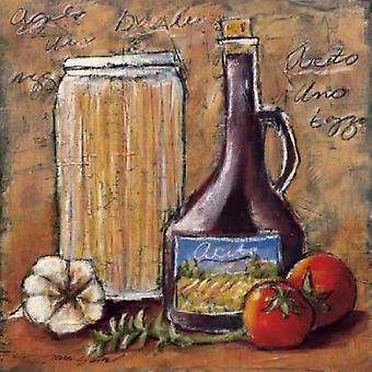 Rustikale Küche III Poster Kunstdruck von Tara Gamel