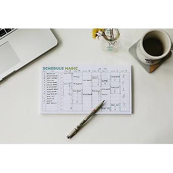 Ugentlig tidsplan Magic To-do Liste - Notesblok