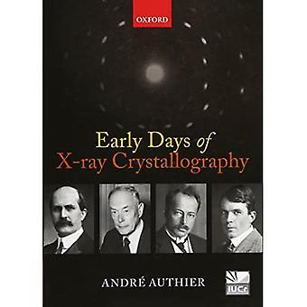 Vroege dagen van x-ray kristallografie