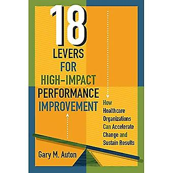 18 hefbomen voor prestatieverbetering met hoge impact: hoe zorgorganisaties veranderingen kunnen versnellen en resultaten kunnen ondersteunen