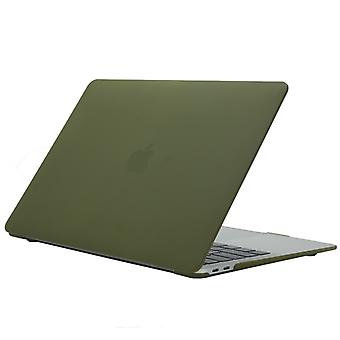 Cream Style Laptop Plastic Protective Case for MacBook Air 13.3 inch A1466 (2012 - 2017) / A1369 (2010 - 2012)(Green)
