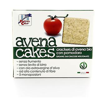 AVENA CAKES -CRACKERS DI AVENA WITH POMODORO 250 g
