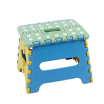 Opvouwbare kruk/stoel, stap 22 x 17 x 18 cm plastic tot 150 kg opvouwbaar