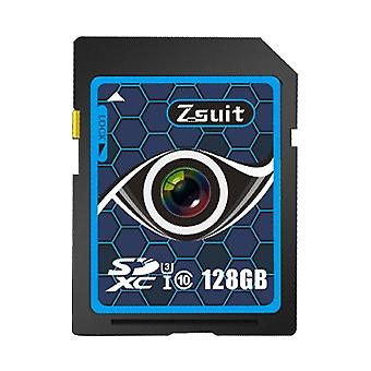 Zsuit Honeycomb Series 128GB Camera Lens Pattern SD Memory Card for Driving Recorder / Camera and Other Support SD Card Devices