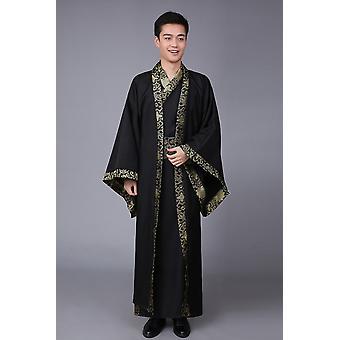 Nationale Hanfu Qin Dynastie Lente en Herfst Warring Staten Performance Dress
