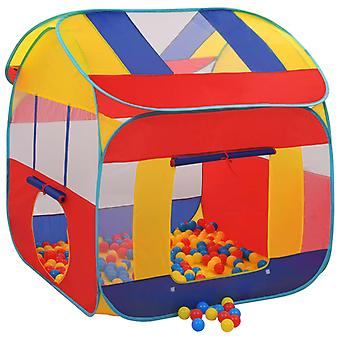 Game tent with 300 balls XXL