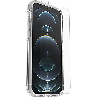 OtterBox Symmetry Clear Case + Performance Glass Screen Protector Bundle