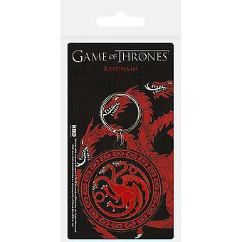 Game of Thrones Targaryen Keyring