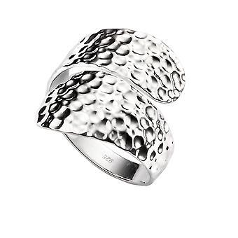 Elementer Sølv Unisex Wrap Omkring Ring