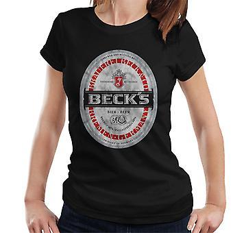 Beck's Label Women's T-Shirt