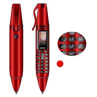 Dual Sim Card Bluetooth Dialer Cellphone With Flashlight Recording Pen Mobile