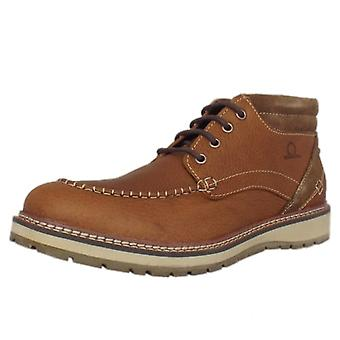 Chatham Albion Men's Casual Lace Up Boots In Tan