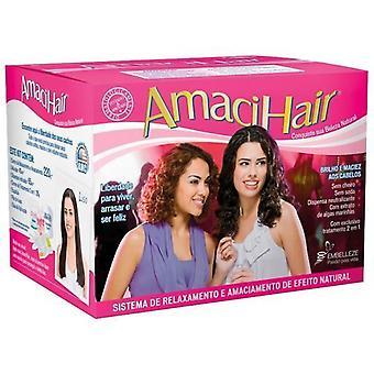 Novex Permanent Straightening Kit Embelleze Amacihair 330 g