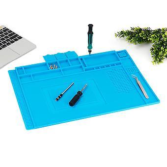 45 x 30CM Magnetic Heat Silicone Pad Desk Mat Heat Insulation Soldering Repair Pad