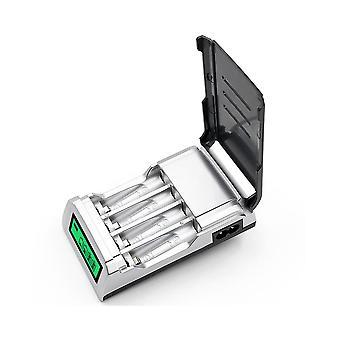 Palo C905W 4 Slot LCD Display AA AAA NiCd NiMh wiederaufladbares Ladegerät