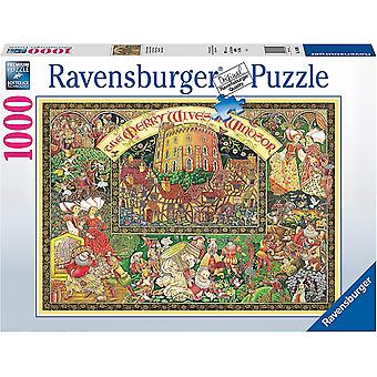 Ravensburger Jigsaw Puzzle Windsor Wives 1000 pieces