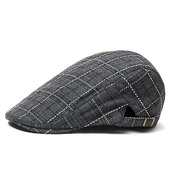 Mens Casual Gatsby Ivy Hat, Outdoors Golf Driving Flat Beret Cabbie Driver