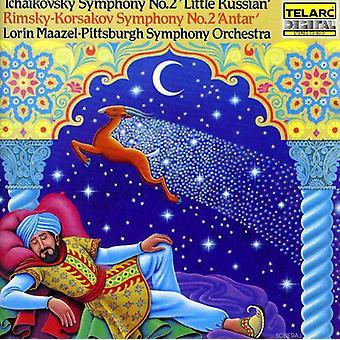 P.I. Tchaikovsky - Tchaikovsky: Symphony No. 2 'Little Russian'; Rimsky-Korsakov: Symphony No. 2 'Antar' [CD] USA import
