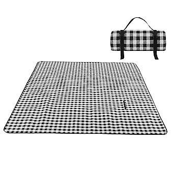YANGFAN Outdoor Acrylic Plaid Picnic Mat