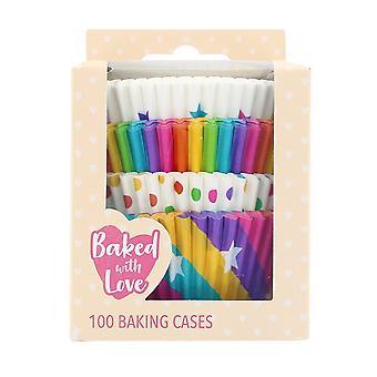 Pieczone z Love 100 Rainbow Pieczenia Przypadkach - pojedynczy