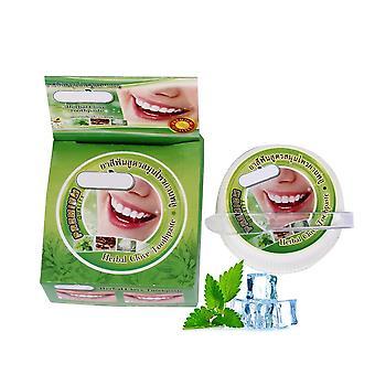 הלבנת שן מנטה עשב, משחת שיניים צמחית טבעית, הסרת כתם,