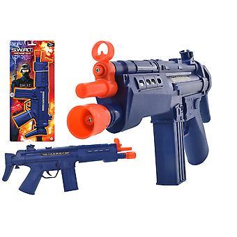 Swat lys og lyd legetøj maskingevær