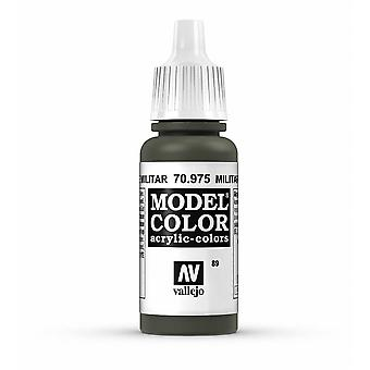 Vallejo Model Color 17ml Acrylic Paint - 975 Military Green