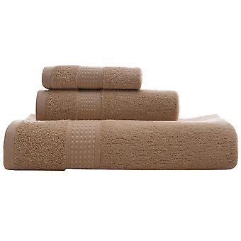 4pc serviette de bain ensemble Long-staple