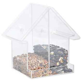 Esschert Design Kombi-Window-Bird Feeding House Acrylic