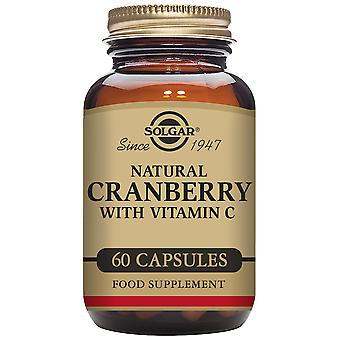 Solgar Natürlicher Brusinkový mit Vitamin C 60 pflanzlichen Kapseln