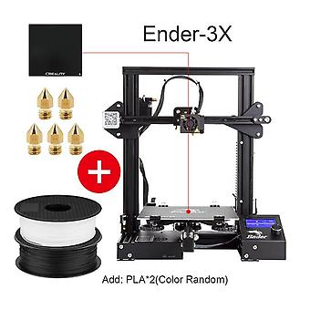 Hot sale ender-3 kit 3d printer large size ender-3x printers 3d continuation print power creality