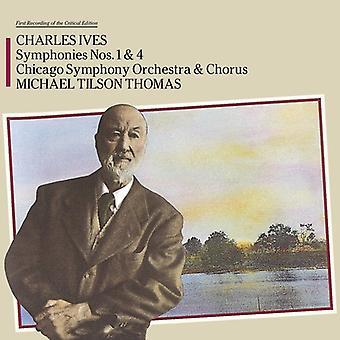 Charles Ives - Symphony 1 & 4 [CD] Us import