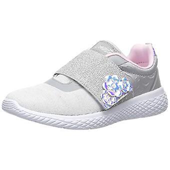 Avia Girls' Avi-Rio Sneaker, Micro Chip/Pastel Lilac/Cherry Blossom/Silver