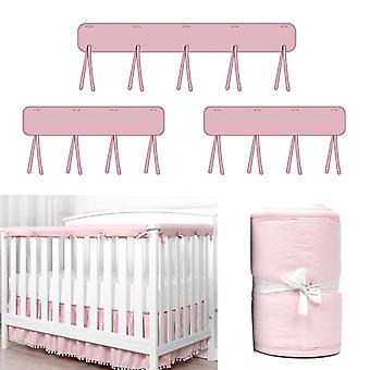 Crib Rail Cover Cradle, Anti-bite Protector Wrap, Safe Baby Teething Guard