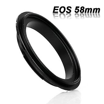 Eos-58 adapter ring for canon eos