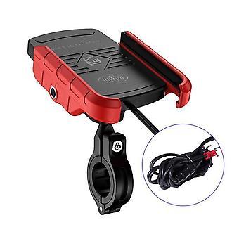 Indehavere af trådløse moto-opladere til trådløse opladere(rød)
