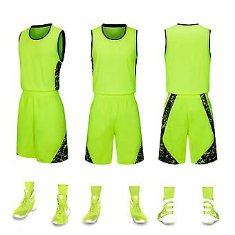 Ropa de baloncesto de traje deportivo absorbente para el sudor