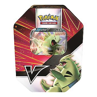 Pokemon TCG: V Strikers Tin Tyranitar V