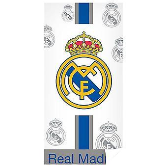 Serviette de plage crest du Real Madrid CF