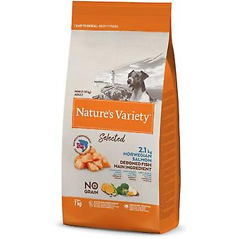 Nature's Variety Selected Mini Adult Grain Free Salmón (Dogs , Dog Food , Dry Food)