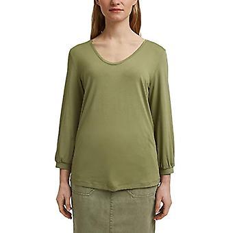 ESPRIT 021EE1K318 T-Shirt, 345/kaki Chiaro, XS Vrouw